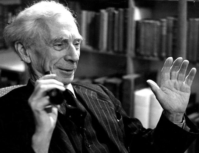 circa 1965:  British philosopher and pacifist Bertrand Russell (1872 - 1970) whose work concerning logic has greatly influenced twentieth century thought.  (Photo by Erich Auerbach/Getty Images)
